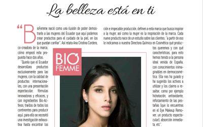 BioFemme en sus 2 años Revista Cosas